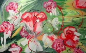 roses,garnations and daisies